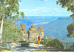 Katoomba Blue Mountain NSW Australia Postcard cs1904
