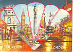 Click here to enlarge image and see more about item cs1921: Big Ben Post Office Tower London England Postcard cs1921