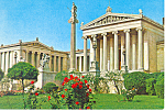 Athens Greece,The Academy Postcard