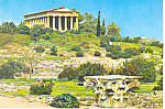 Athens Greece,The Temple of Hephaestos Postcard