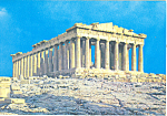 Athens Greece,The Parthenon Postcard
