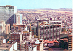 Johannesburg,South Africa View Hillbrow Postcard 1975