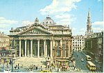 Click here to enlarge image and see more about item cs1943: The Exchange, Brussels, Belgium Postcard