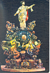 Study for St Ignatius Statuary, F M Brokoff Postcard cs1966