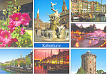 Click here to enlarge image and see more about item cs1967: Views of Copenhagen Denmark Postcard cs1967 2004