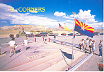 Four Corners Monument, CO Postcard 2003
