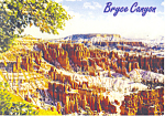 Click here to enlarge image and see more about item cs1984: Bryce Canyon National Park UT Postcard 2002