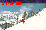 Jackson Hole, Wyoming Postcard 1997