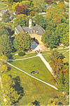 Aerial View of The Capitol Williamsburg VA Postcard cs2034