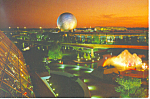 Future World Disney World  Postcard