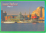 Inner Harbor,Pier 5,Baltimore, MD  Postcard
