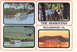 The Hiawatha at Williamsport  PA  Postcard cs2079