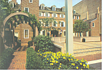 Click here to enlarge image and see more about item cs2083: Franklin Court Philadelphia PA  Postcard cs2083