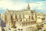 The Cathedral Sevilla Spain Postcard cs2107