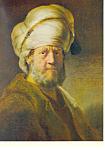 An Oriental,Rembrandt Harmensz Van Rijn Postcard