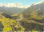 Click here to enlarge image and see more about item cs2141: Weltkurort Bad Gastein (1083m) Postcard