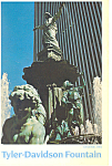 Tyler Davidson Fountain,Cincinnati,Ohio Postcard