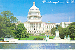 US Capitol Washington DC Postcard cs2155
