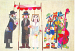 The Wedding Artwork Postcard