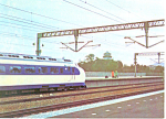 Click here to enlarge image and see more about item cs2165: Bullet Train Japan Postcard cs2165