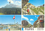 Pilatus, Switzerland Postcard 1971