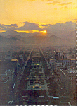Oderi Park, Sapporo Japan, Postcard