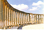 Click here to enlarge image and see more about item cs2180: The Forum Jerash Jordan Postcard cs2180