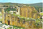 Click here to enlarge image and see more about item cs2183: Zeus Temple Jerash Jordan Postcard cs2183