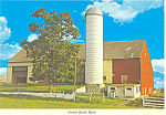 Amish Bank Barn, Pennsylvania, Postcard cs2188
