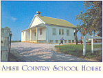 Amish Country Schoolhouse , PA, Postcard cs2196