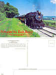 Strasburg Railroad Steam Train Postcard