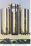 Bonaventure Hotel Los Angeles CA Postcard cs2233