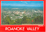 The Roanoke Valley Virginia Postcard