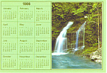 1986 Virginia Calendar Card Postcard