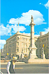 Soldiers Monument Lancaster Pennsylvania Postcard cs2279
