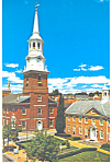 Lutheran Church Lancaster  Pennsylvania Postcard cs2280