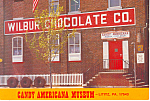 Wilbur Chocolate Co., Lititz,Pennsylvania Postcard
