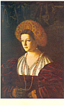 Portrait of a Lady Veneto Postcard cs2287