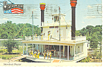 Showboat Theatre Opryland TN Postcard cs2302