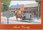 Amish Buggy, Bird in Hand,Pennsylvania  Postcard