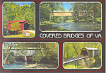 Covered Bridges of Virginia  Postcard