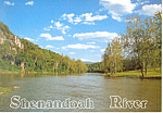 Shenandoah River, Virginia  Postcard