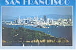 San Francisco CA From Marin County  Postcard cs2329
