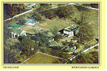 Graceland Tennessee Meditation Center Postcard cs2332