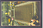 Click here to enlarge image and see more about item cs2334: Graceland Tennessee Elvis Grave Postcard