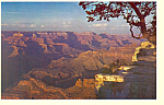Click here to enlarge image and see more about item cs2337: Sunset at the Grand Canyon Postcard cs2337