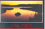 Click here to enlarge image and see more about item cs2339: Emerald Bay, Lake Tahoe Postcard