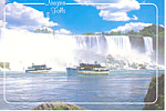 Maid of the Mist Niagara Falls Canada Postcard cs2364