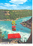 Niagara Falls Canada Cable Car Ride Postcard cs2366