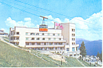 Hotel Alpin Romania Postcard cs2370
